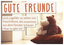 gute freunde kuscheltiere postkarte gl ckwunschkarten online kaufen ex libris