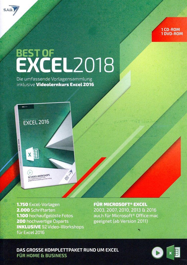 Best of Excel 2018 [inkl. Videolernkurs] [PC] (D) - Office - acheter ...