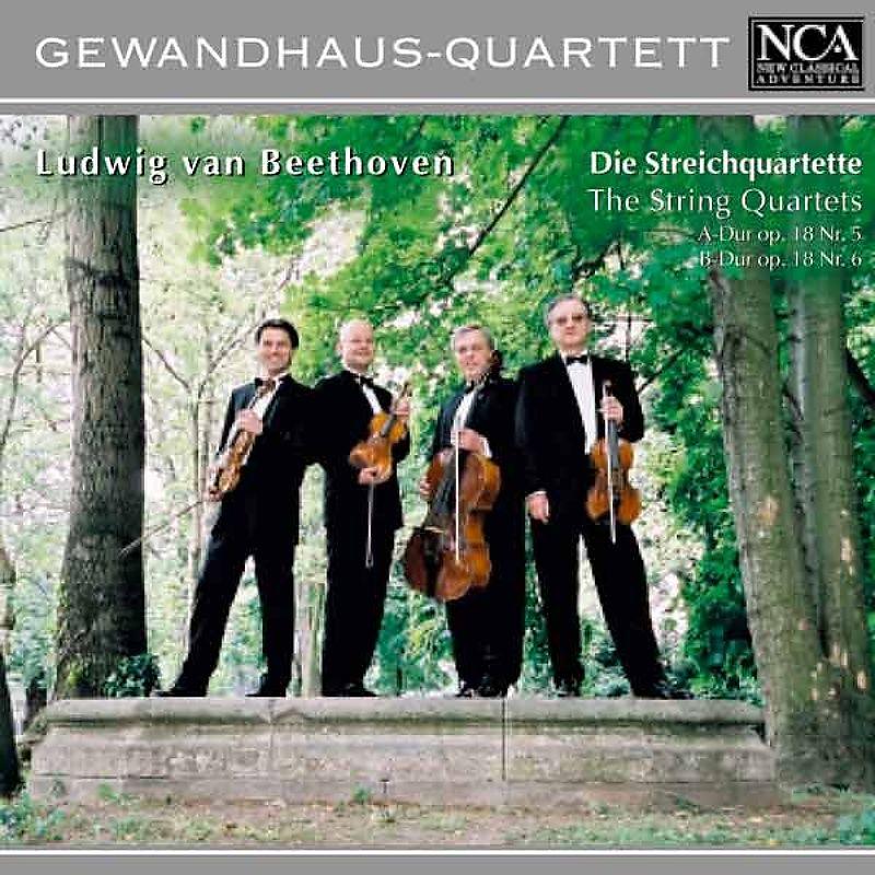 Beethoven: Streichquartette Op.18,5 & 6