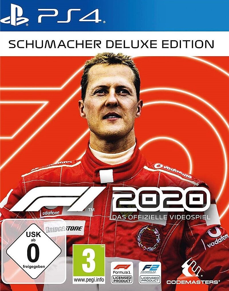 F1 2020 - Schumacher Deluxe Edition [PS4] (D)