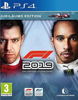 F1 2019 Jubiläums Edition [PS4] (D) als PlayStation 4-Spiel