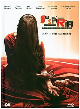 Suspiria Mediabook BLU-RAY + DVD