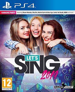 Let's Sing 2019 [PS4] (D/F/I) als PlayStation 4-Spiel
