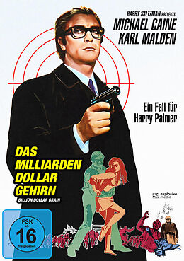 Das Milliarden Dollar Gehirn DVD