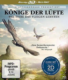 David Attenborough: Könige der Lüfte - 2 Disc Bluray BLU-RAY 3D/2D