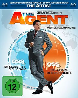 The Agent - OSS 117, Teil 1 & 2 Blu-ray
