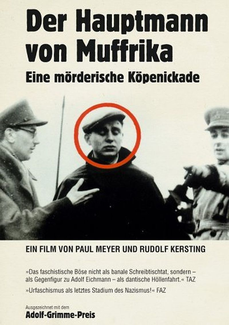Der Hauptmann von Muffrika [Versione tedesca]