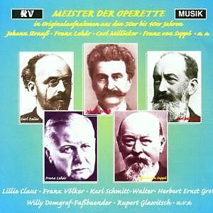 Meister Der Operette