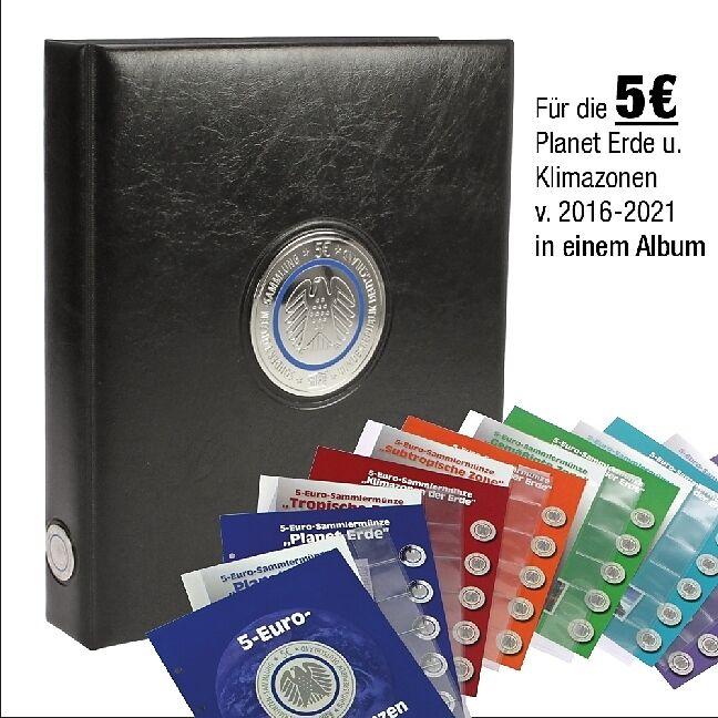 Münzenalbum 5 Euromünzen Klimazonen Buch Kaufen Exlibrisch