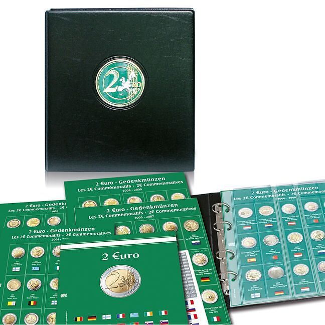 Euromünzensammelalbum Für Alle 2 Euro Münzen 2011 2014 Bd2