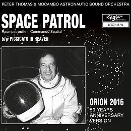 Thomas,Peter/Mocambo Astronautic Sound Orchestra Vinyl Space Patrol (Raumpatrouille)