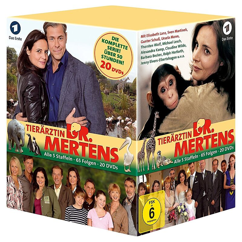 Tierärztin Dr. Mertens - Staffel 1-5 - DVD - online kaufen | exlibris.ch