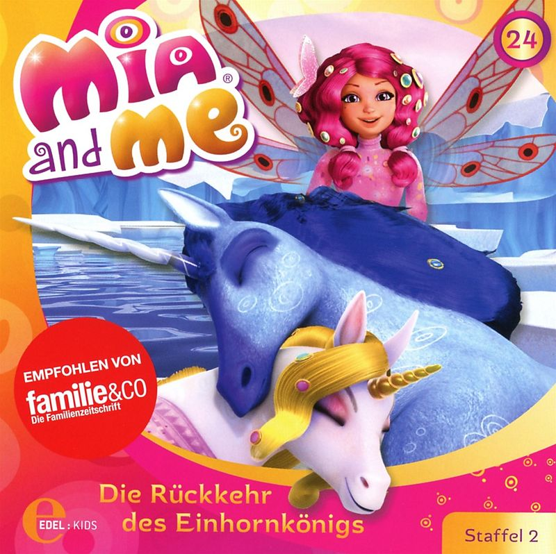 24 die r ckkehr des einhornk nigs mia and me cd. Black Bedroom Furniture Sets. Home Design Ideas