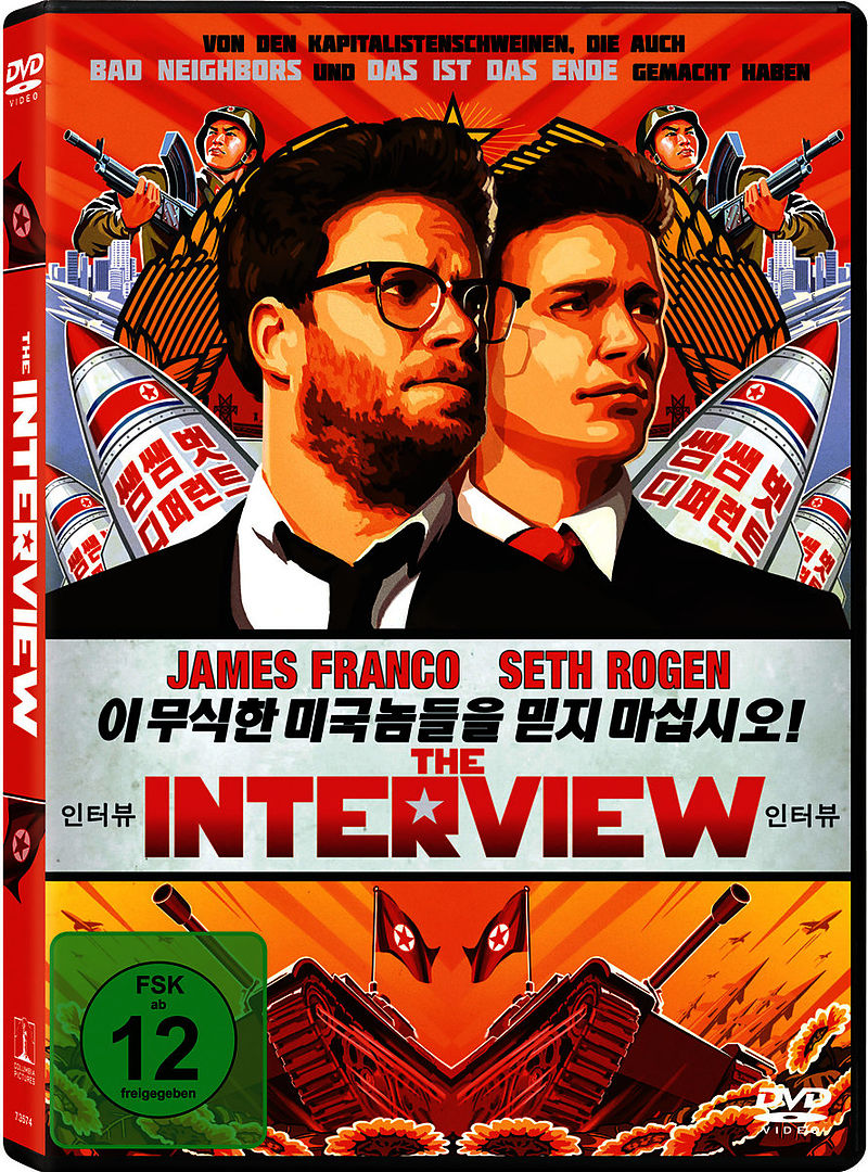 The Interview - DVD - online kaufen | exlibris.ch