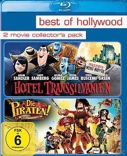 BEST OF HOLLYWOOD - 2 Movie Collector's Pack 86 (Hotel Transsilvanien / Die Piraten - Ein Haufen merkwürdiger Typen) Blu-ray