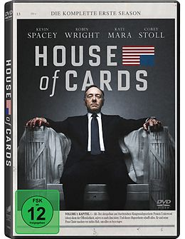 House of Cards - Staffel 01 DVD