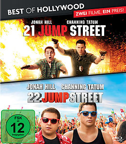 BEST OF HOLLYWOOD - 2 Movie Collector's Pack 87 (21 Jump Street / 22 Jump Street) Blu-ray