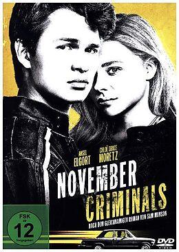 November Criminals DVD