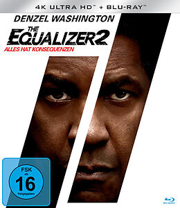 The Equalizer 2 - BR 4K Blu-ray UHD 4K