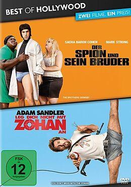 Der Spion und sein Bruder & Leg dich nicht mit Zohan an DVD