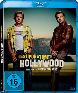 Once upon a time in Hollywood - BR Blu-ray