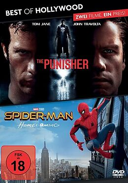 The Punisher & Spider-Man: Homecoming DVD