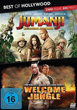 Jumanji - Willkommen im Dschungel & Welcome to the Jungle DVD
