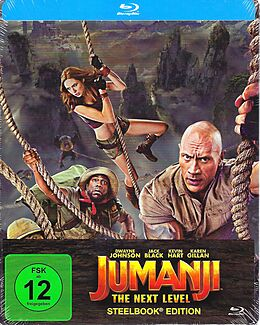 Jumanji - The Next Level - BR Steelbook Blu-ray