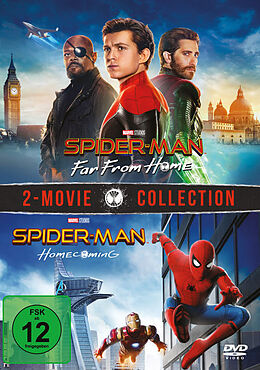 Spider-Man: Far from home + Homecoming DVD