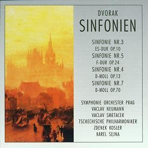 Dvorak Anton-die Sinfonien