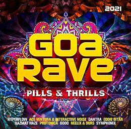 Various Artists CD Goa Rave 2021 - Pills & Thrills