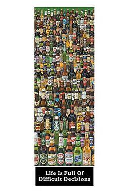 beer bottles poster t r posters online kaufen ex libris. Black Bedroom Furniture Sets. Home Design Ideas