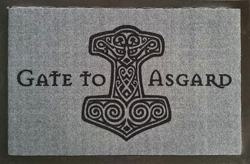 gate to asgard fussmatte fussmatten online kaufen ex. Black Bedroom Furniture Sets. Home Design Ideas