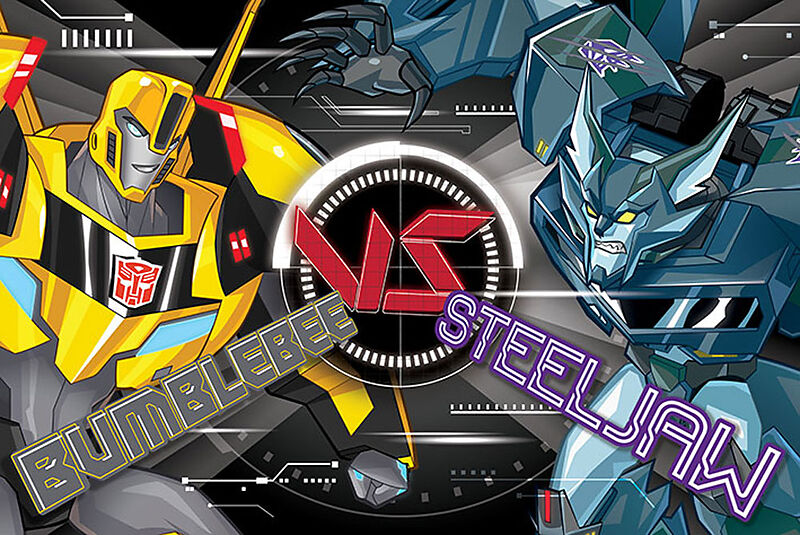 Transformers - Robots In Disguise BB Vs Steeljaw Poster