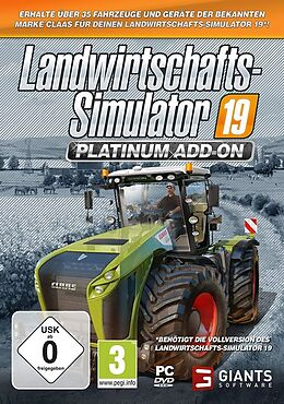 Landwirtschafts-Simulator 19 - Platinum [Add-On] [DVD] [PC] (D) als Windows PC-Spiel