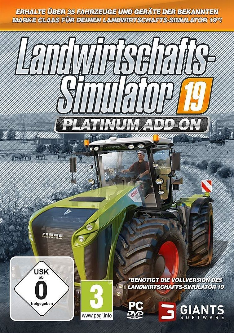 Landwirtschafts-Simulator 19 - Platinum [Add-On] [DVD] [PC] (D)