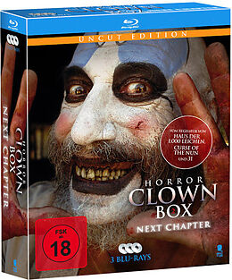 Horror Clown Box 2 - Next Chapter - BR Blu-ray