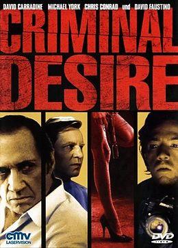 Criminal Desire DVD