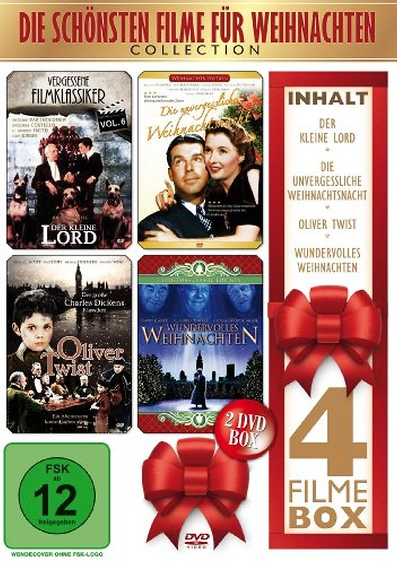 die sch nsten filme f r weihnachten dvd online kaufen. Black Bedroom Furniture Sets. Home Design Ideas