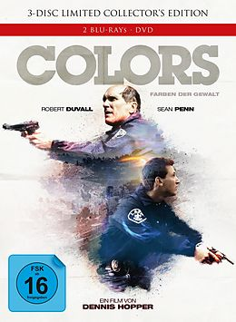 Colors - Farben Der Gewalt Ltd Mediabook Blu-Ray Disc