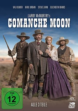 Larry McMurtrys Comanche Moon DVD
