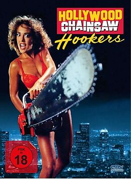Hollywood Chainsaw Hookers (cover B) Blu-ray