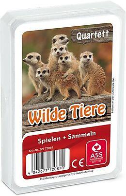 Wilde Tiere, Quartett (Kartenspiel) Spiel