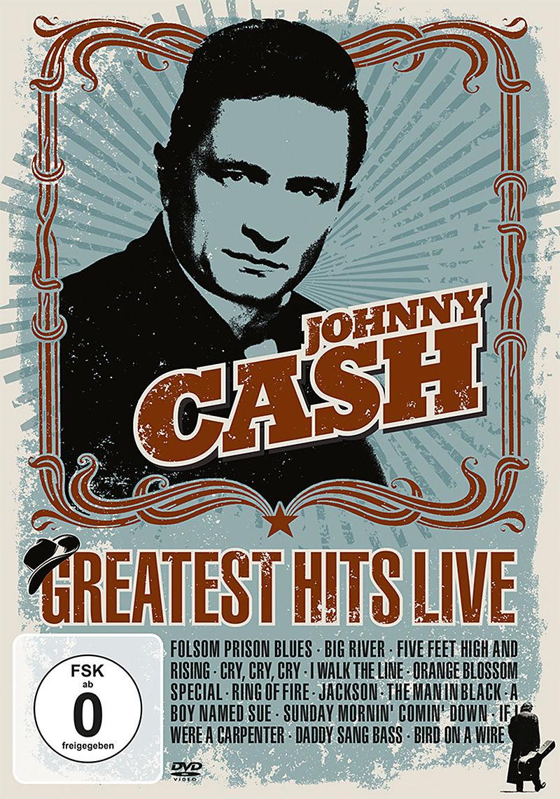 Greatest Hits Live-Johnny Cash - DVD - online kaufen | exlibris.ch