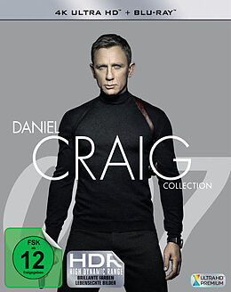 James Bond: Daniel Craig Collection BLU-RAY Box Blu-ray UHD 4K + Blu-ray