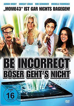 Be Incorrect - Böser gehts nicht DVD