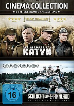 Das Massaker von Katyn & Schlacht um Finnland - Tali-Ihantala 1944 DVD