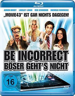 Be Incorrect - Böser Geht's Nicht Blu-ray Blu-ray