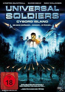 Universal Soldiers - Cyborg Island DVD