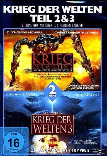 Krieg Der Welten 2 & 3 [Versione tedesca]